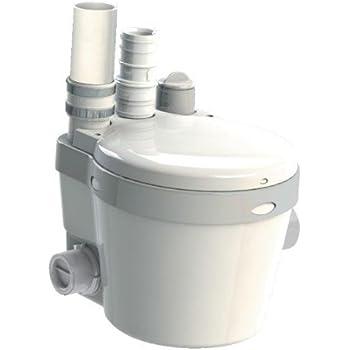 Saniflo 021 SANISWIFT Residental Gray Water Pump, White