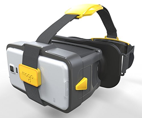 MOGO Travel Black/Yellow for Netflix, Drones, Low-Vision, Augmented Reality (not VR)