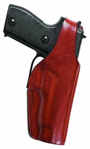 Bianchi Thumbsnap Belt Holster - Bianchi 19L Thumbsnap Holster - Browning Hi-Power (Tan, Right Hand)