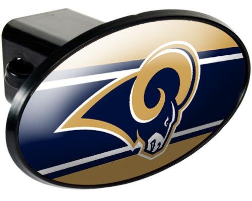 NFL Los Angeles Rams Trailer Hitch Cover