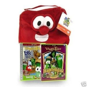 Veggietales Bible Cover (Veggie Tales Book/Bible Cover and 2 Dvds)