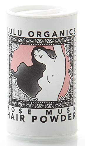 - Lulu Organics Rose Musk Hair Powder/Dry Shampoo - 1oz
