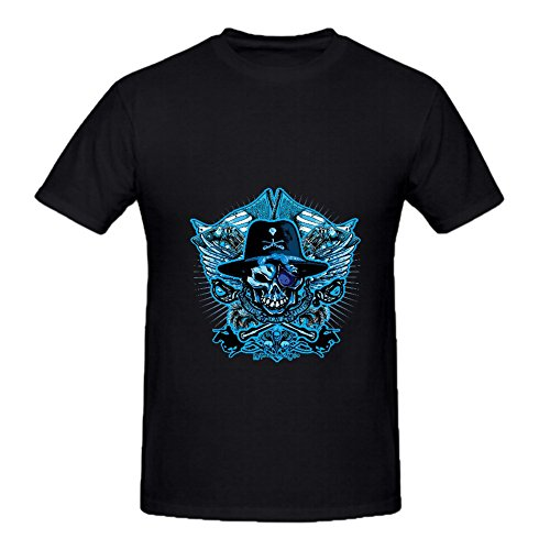 KARLEE Skull Army Calva Casual Cotton Crew Neck Male T-shirt -