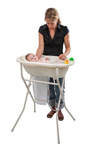 Rotho Babydesign Badewannenständer Höhenverstellbar Weiß Amazonde