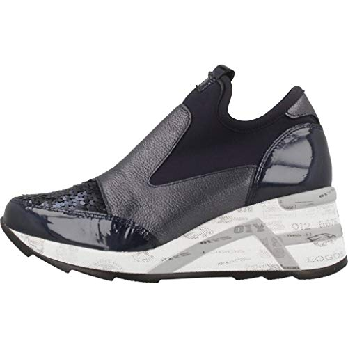 N Model Boots Blue Blue Womens Cetti Blue Womens Colour Boots Glitter Brand XBqzS0