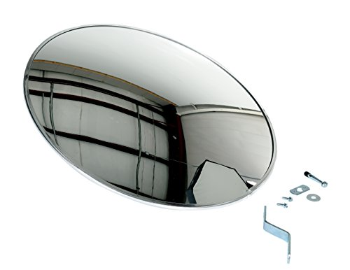 (IHS CNVX-26 Round Industrial Acrylic Convex Mirror, 26