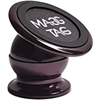 Magnetic Phone Car Mount- Durable, Hands Free Car Phone Mount by MaggTag - Universal Car Phone Holder iPhone 7, 6, 6 Plus, 5, 5S, Galaxy S5, S6, S7, S6 Edge, Note 3, 4, 5