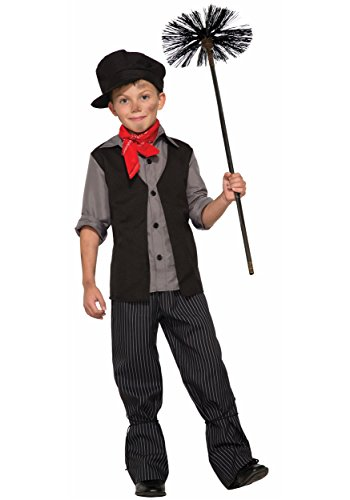 Mary Poppins Childrens Costume (Forum Novelties Child Poppins Chimney Sweeper Costume - S)