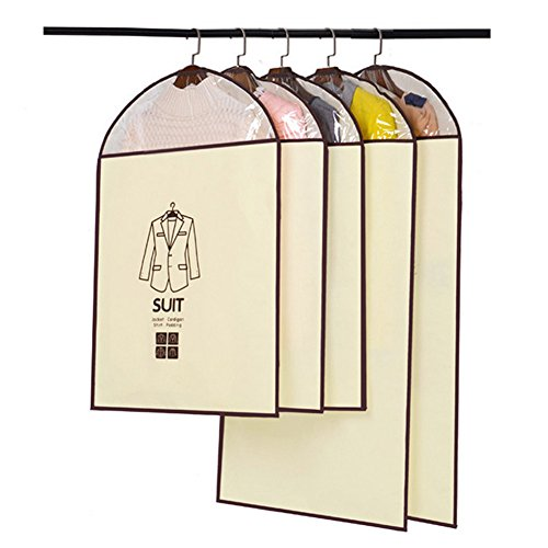 Dance Costumes Robe Purchase (Xerhnan Perfect Garment Bags for 5 Suits - Dress Bag Set for Easy Storage or Travel)