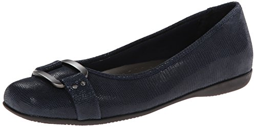 Trotters Sizzle Flat Women's Blue Suede Dark 55rFvTnqW