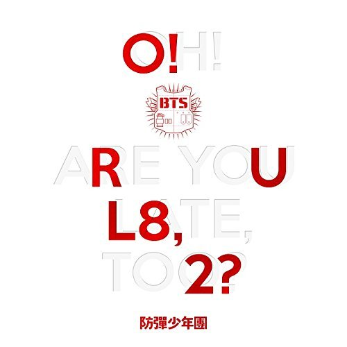 BTS - O!RUL8,2? (1st Mini Album) CD + 74p Photo Booklet + 2 Official Photocards + Folded Poster + Extra Gift Photocards Set