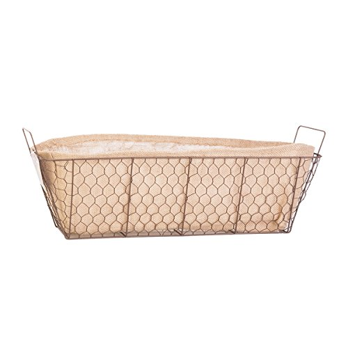 PANACEA PRODUCTS 24'' Rustic Window Box Burlap Liner by Panacea Products