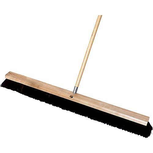 - Rubbermaid Commercial Polypropylene Hardwood Block Medium Floor Sweep, 36-Inch