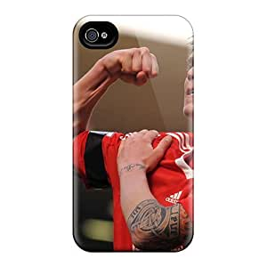 [epo854FUQi] - New Liverpool Daniel Agger Is Showing His Muscle Protective iPhone 4 4s Classic Hardshell Case