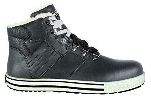 Cofra moderner Sicherheitsschuh PLAYER S3 SRC, im Sneaker-Look aus der Old Glories Serie, gefüttert Schwarz