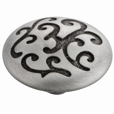 Mayfair Mushroom Knob [Set of 4] Finish: Satin Pewter Antique