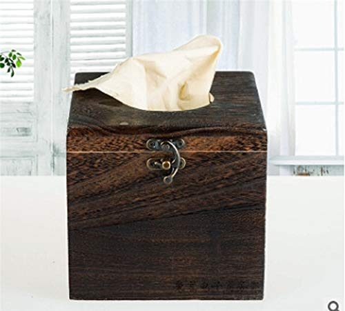 Used, Haga Napkin Holder Wood wooden retro tissue box paper for sale  Delivered anywhere in USA