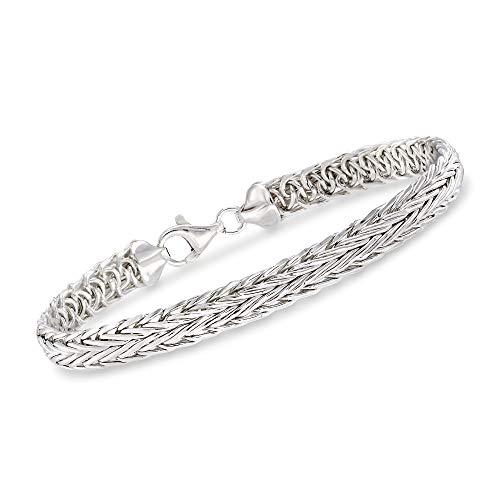 Ross-Simons Sterling Silver Medium Wheat Chain -