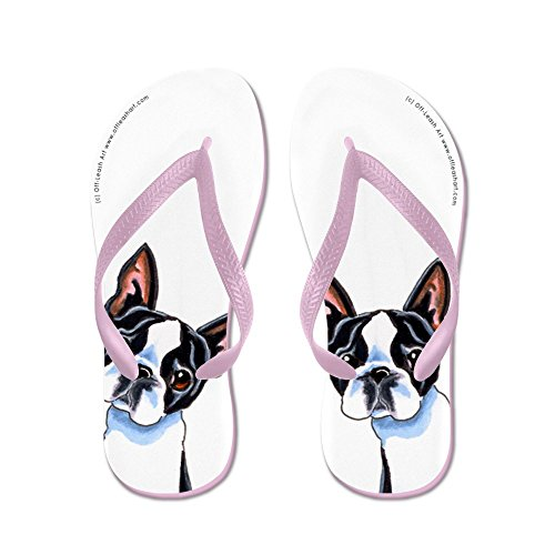 CafePress Boston Terrier About Sandals