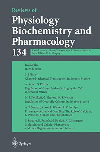 Reviews of Physiology Biochemistry and Pharmacology: Special Issue on Signal Transduction in Smooth Muscle