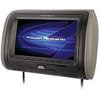 Power Acoustik HDVD-91CC 9 Universal DVD Headrest With USB/AUX