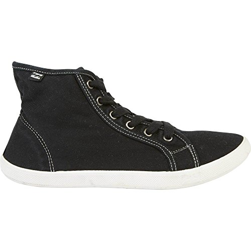 Billabong Women's Phoenix Fashion Sneaker, Off Black, 6 M US