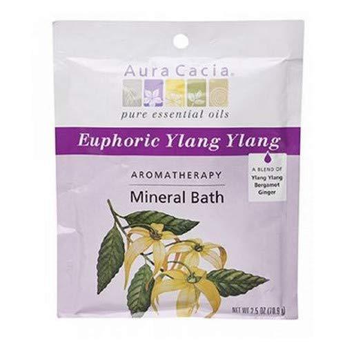 Aura Cacia Aromatherapy Mineral Bath Euphoria, 2.5 Ounce