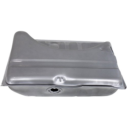 allon Fuel Tank compatible with 71-76 Dodge Dart Plymouth Duster Silver w/Front Vent Tube