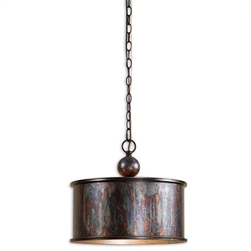Uttermost 21921 Albiano 1-Light Pendant, Bronze ()