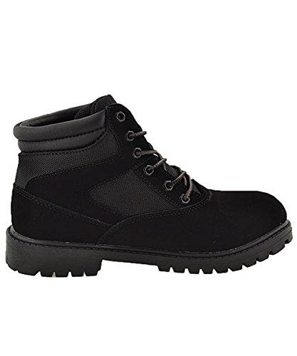 ,Black,6.5 Mountain Gear-Boys Moorland Hi Boots Big Kid