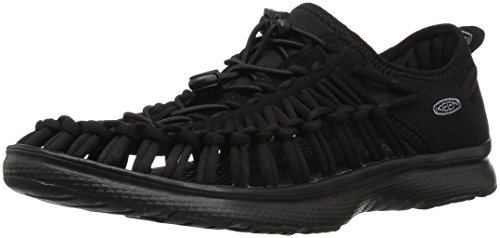 Keen Men's Uneek O2 Closed Toe Sandals Black (Black/Black 0) PMbAnhpDJO
