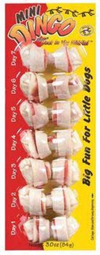 Dingo Knotted Bone 7/Pkg, My Pet Supplies
