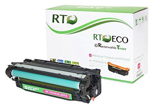 Renewable Toner 507A CE403A Compatible Magenta Toner Cartridge for HP LaserJet Enterprise 500 M551 500 MFP M575
