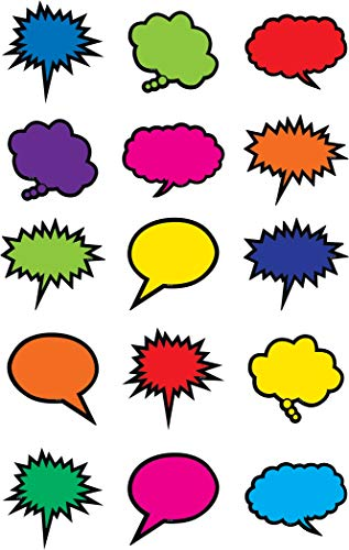 - Teacher Created Resources Colorful Speech/Thought Bubbles Mini Accents