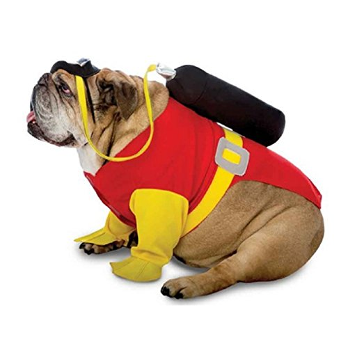 Scuba Diver Costume For Dogs (Zelda Scuba Steve Dog Costume (3XL))