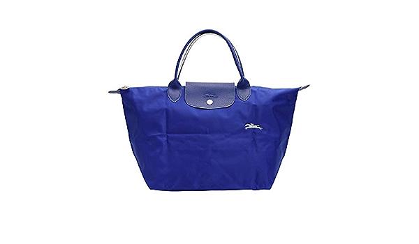 Amazon.com: LongChamp Women's Le Pliage Cobalt Club Top Handle ...