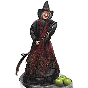 Amazon.com : Cackling Moving Scary Light Up Witch
