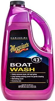 Meguiar's M4364 Marine Boat Soap - 64 oz, Pu