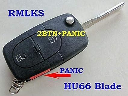 Desconocido RMLKS - Carcasa para Mando a Distancia para Audi ...