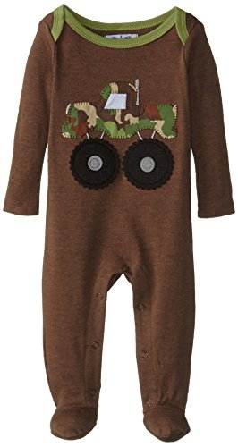 Mud Pie Baby Boys' Puppy Footed One Piece