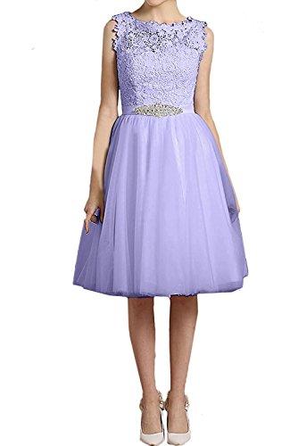 Jugendweihe Brautjungfernkleider Damen Braut Marie Kleider Kurzes Knielang La Festlich Abendkleider Lilac Hcf0TwqFF