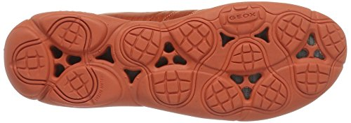 D Nebula Geox Dark Women's G Orange Sneakers 61q5w