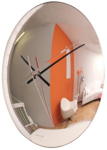 Captivating 16u0026quot; Convex Mirror Clock