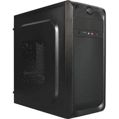 Topower TP-2001BB-500 ATX/mATX Mid-Tower Computer with 500W Power Supply Cases (Black) by Topower