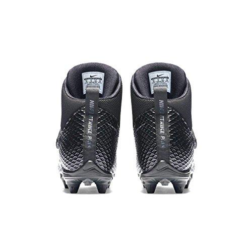 Mens NIKE Lunarbeast Pro TD Football Silver Cleats Black dxqzw8qagn