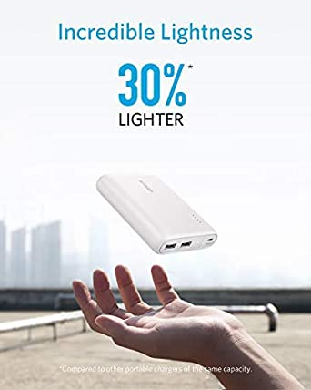 for iPhone Android Anker PowerCore Fusion 5000 2-in-1 Portable Charger and Wall Charger iPad PowerIQ Technology Renewed Samsung Galaxy and More AC Plug with 5000mAh Capacity