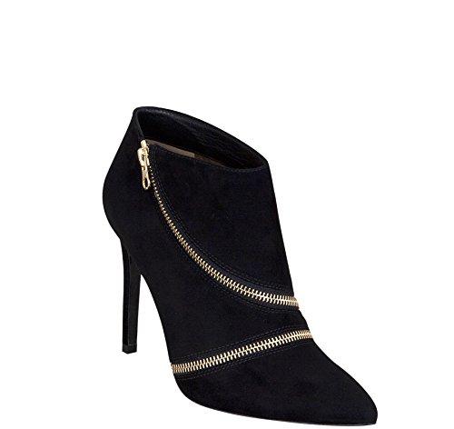 Noir Aladin Velours Bottines en Chaussures Kesslord Anna Chèvre N GV UwqSSd8