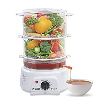 Hilton Multi Steam Cooker Small Kitchen Appliances at amazon