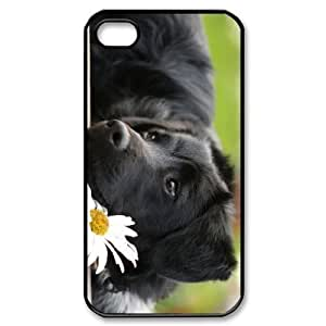 ALICASE Diy Customized hard Case Dog For Iphone 4/4s [Pattern-1]