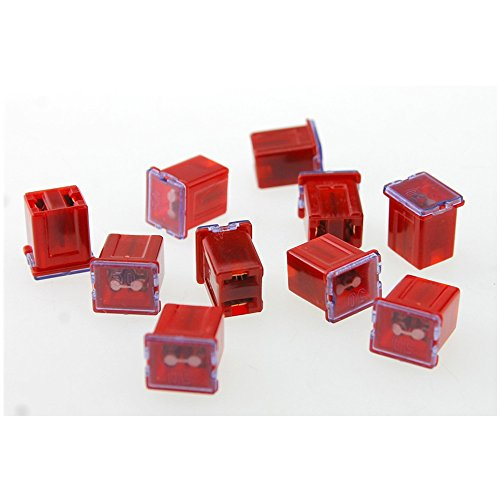 10 pcs 50A 12V-58V Female Terminals mini PAL Fuse FOR CAR Auto/ Mini PAL fuse hot ()